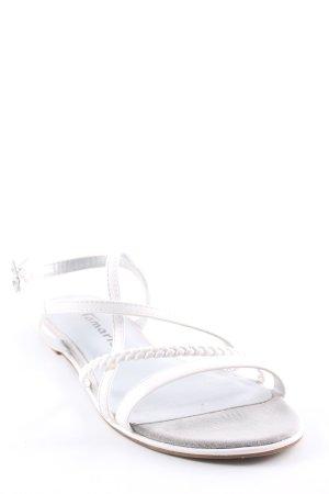 Romeinse sandalen veelkleurig Metalen elementen