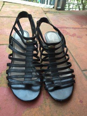 Tamaris Roman Sandals black imitation leather