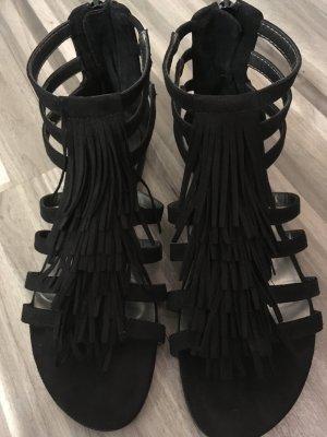 Römer - Sandalen mit Fransen , Gr. 39 ***Spezial Sale ***