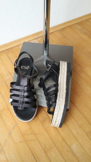 Römer-Sandalen von Exe Shoes Spain Größe 38 in schwarz