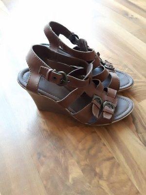 Römer Sandaletten Bohemian Style braun Hippie Riemchen Trend