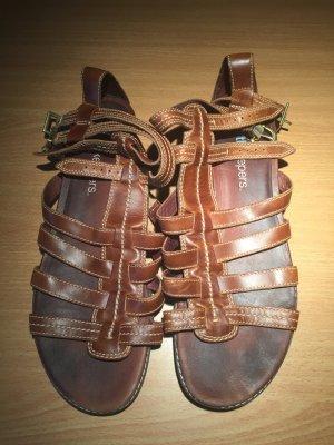 Timberland Sandale d'extérieur cognac cuir