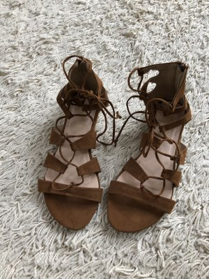 Truffle Collection Romeinse sandalen bruin