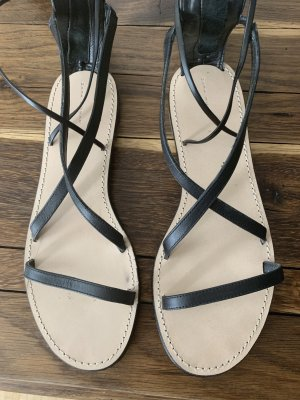 Zara Romeinse sandalen zwart
