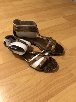 Sandalias romanas color bronce-color oro