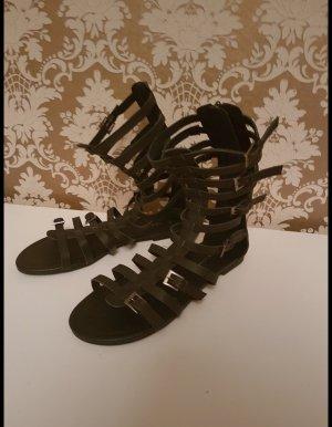 Asos Romeinse sandalen zwart