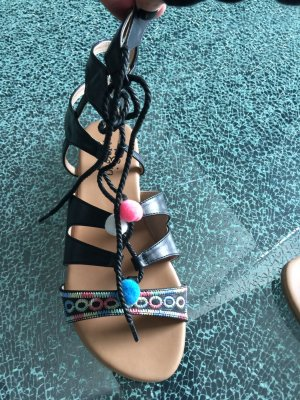 Roman Sandals multicolored imitation leather