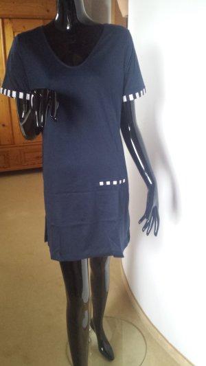 Rösch, Hauskleid in dunkelblau, Gr.38, neu