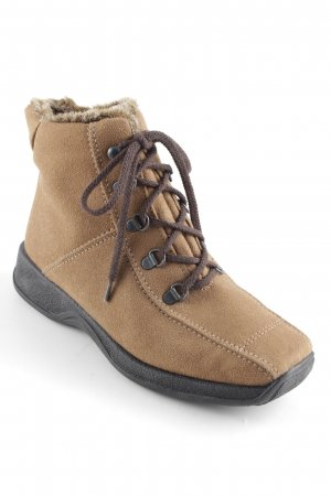 Rohde Lace-up Boots camel-dark brown classic style