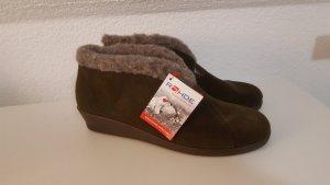 Rohde Slipper Socks black brown-grey brown