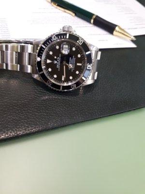 Rolex Orologio nero-argento