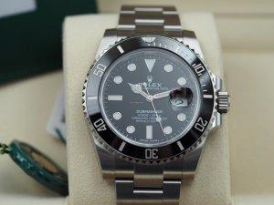 Rolex Automatisch horloge zwart-zilver