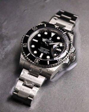 Rolex Reloj automático gris-negro