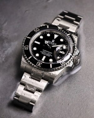 Rolex Self-Winding Watch grey-black