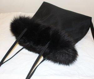 ROLF-SCHULTE-Pelz-Tasche-schwarz-Fuchs