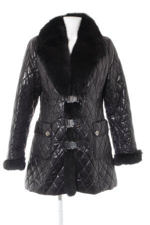Rolf Schulte Winter Jacket anthracite-black quilting pattern elegant