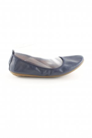 Rollbab Foldable Ballet Flats blue casual look