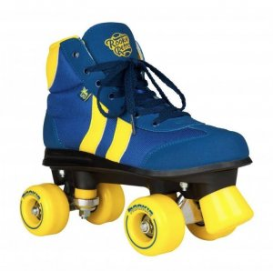 Rollerskates Retro ROOKIE Unisex Blue/Yellow Größe 37
