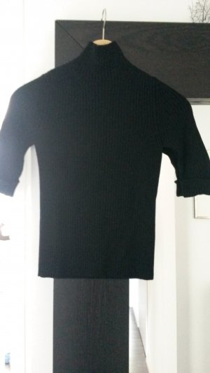 Strenesse Jersey de cuello alto negro