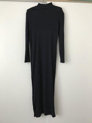 Rollikleid aus glänzendem Ripp von H&M