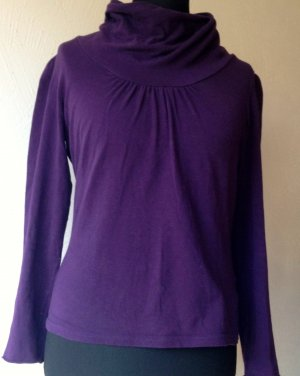 1060 Turtleneck Shirt dark violet