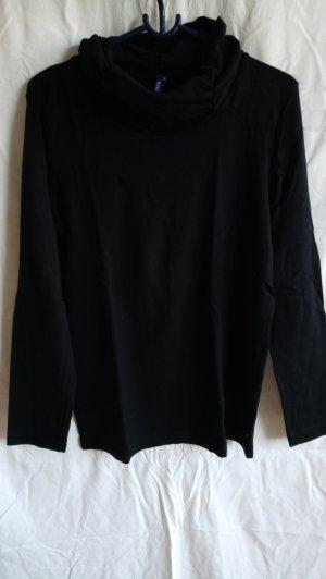 Cecil Camisa acanalada negro