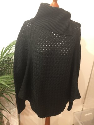 Yessica Coarse Knitted Jacket black
