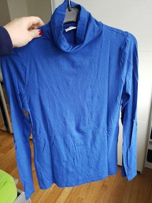 rollkragen pulli blau gr. m orsay