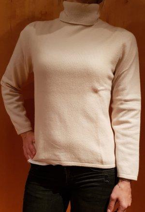 Rollkragen Pullover aus Merinowolle von Longchin