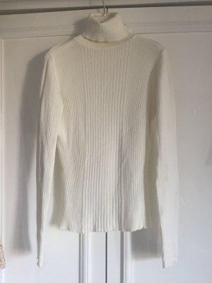 Rollkragen Pullover in 100 % Baumwolle