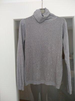 Rollkragen Pullover mit Nieten