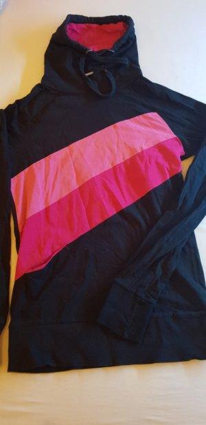Rollkragen Pullover mit Schnürung und Tasche