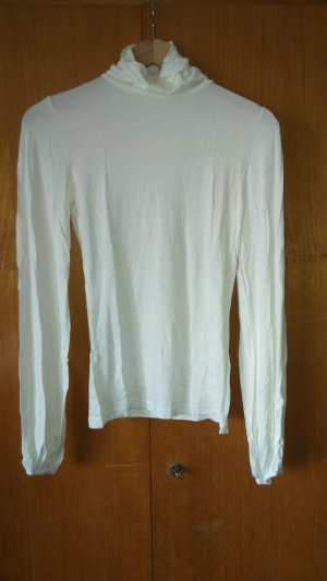 Rollkragen Pullover mit weiten Ärmeln