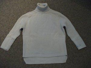 Rollkragen Pullover / Rolli von Esprit, Gr. 34, hellblau, Baumwolle
