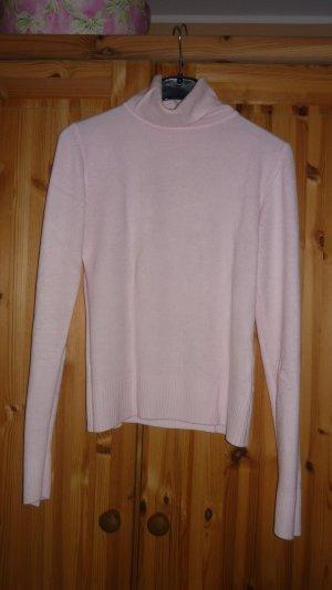 Rollkragen Pullover rosa Größe S