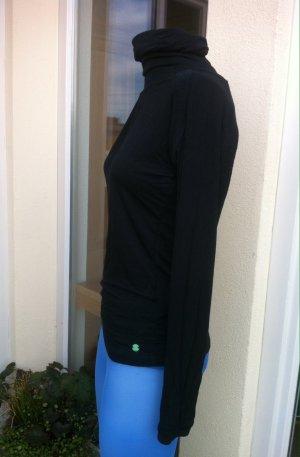 Rollkragen -Shirt mit besonderem Rückenausschnitt
