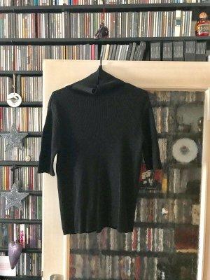 b.p.c. Bonprix Collection Short Sleeve Sweater black