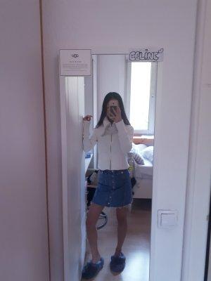 Rollkragen-Sweatshirtjacke