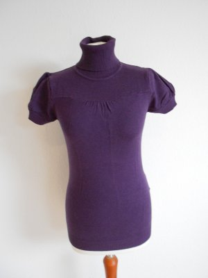 Rollkragen T-Shirt Farbe Lila neuwertig