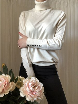 Taifun Turtleneck Sweater multicolored