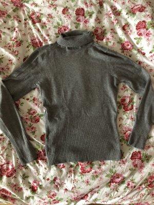 Maglione dolcevita grigio