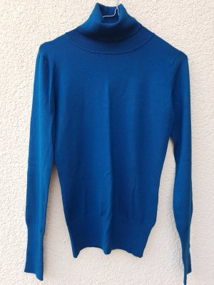 Coarse Knitted Sweater petrol