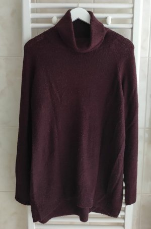H&M Turtleneck Sweater blackberry-red