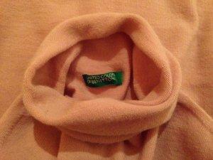 Rollkragenpullover aus Wolle mit Elasthan