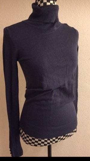 Takko Turtleneck Sweater steel blue