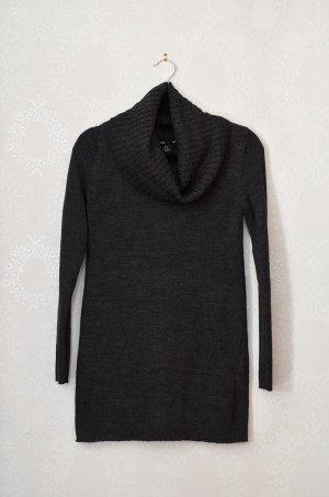 Rollkragenpullover H&M Basic NEU Wasserfall Longpullover Pulloverkleid Cleanchic