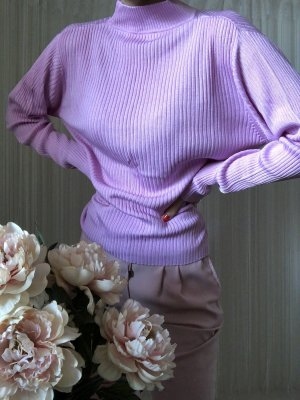 Maglione dolcevita multicolore