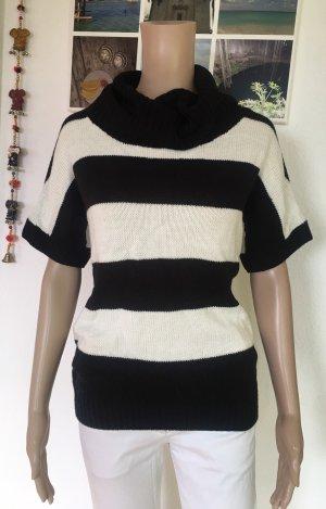 Esmara Jersey de manga corta negro-blanco