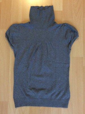 Rollkragenpullover mit kurzen Puffärmeln von H&M in der Größe 32 (NEU)