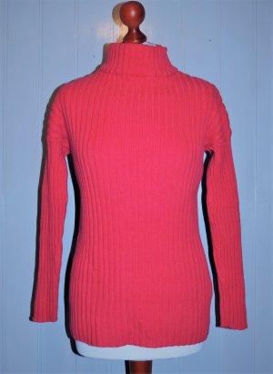 Rollkragenpullover pink Größe 36/38 von bpc